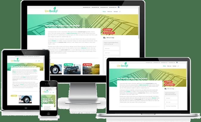 Professionele WordPress Website laten bouwen door experts