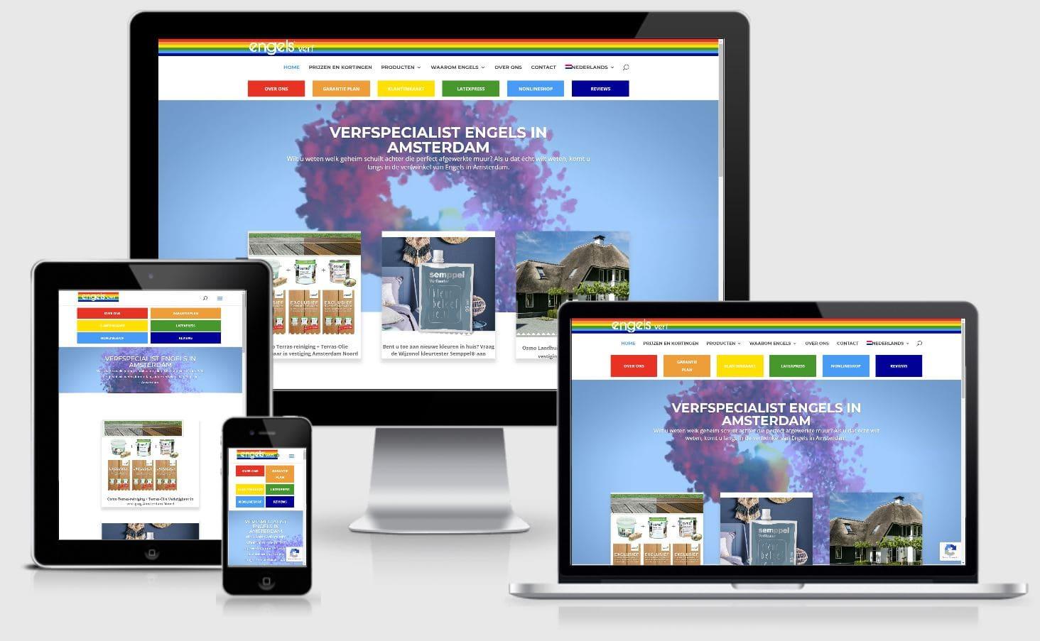 Professionele responsive website laten maken